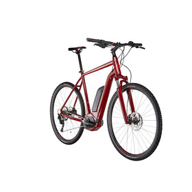 Cube Cross Hybrid Pro 400 E-Cross Bike red
